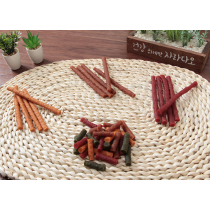 All Natural Delicious, Tender, and Healthy Soft Salmon Jerky Sticks for Dogs
